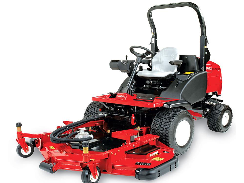 Toro Finish Mower : George browns toro groundsmaster rotary mower