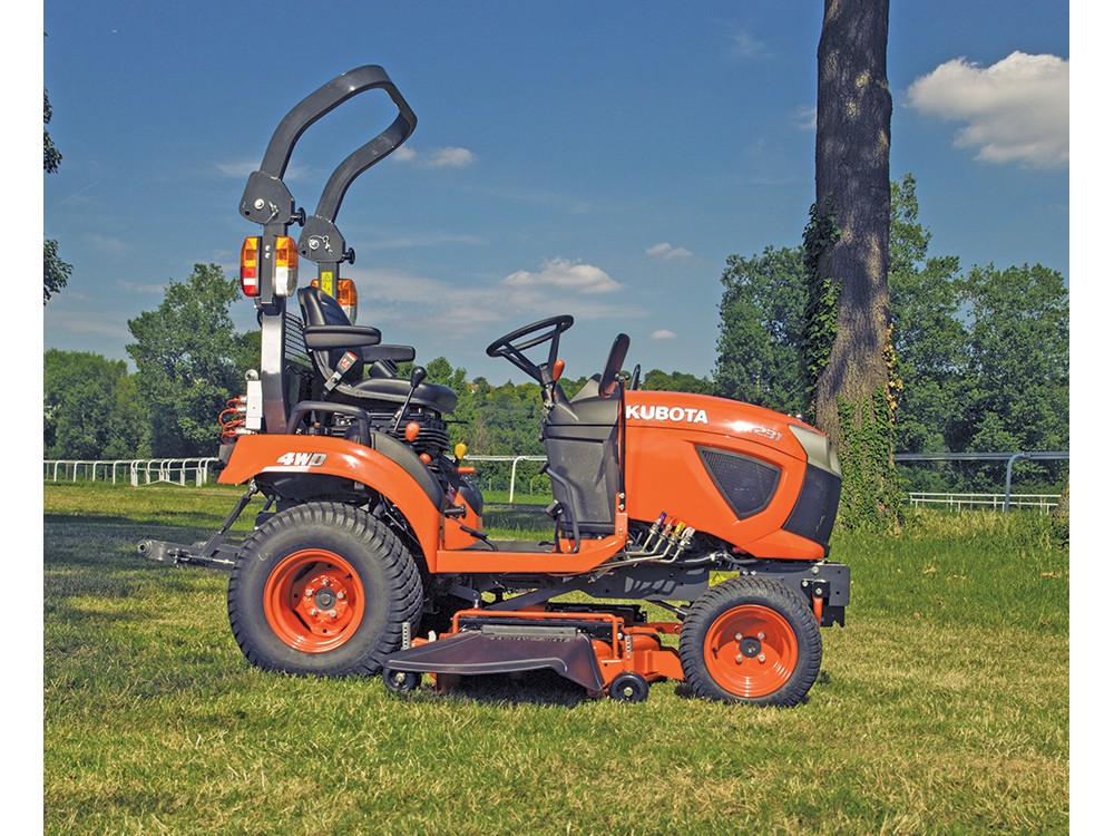 Kubota Mower Accessories : George browns kubota hp sub compact tractor bx