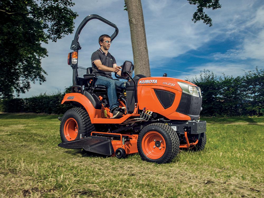 Kubota Bx Bumpers : George browns kubota hp sub compact tractor bx